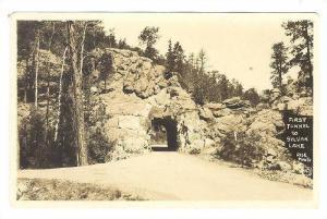 RP, First Tunnel, Sylvan Lake, South Dakota, 1910-1920s
