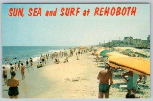 1980's ERA SUN SEA & SURF AT REHOBOTH BEACH DELAWARE*PLAYGROUND OF THE ATLANTIC