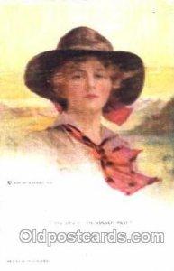 Artist Signed Philip Boileau Series 755 1925 postal used, perfect corners, im...