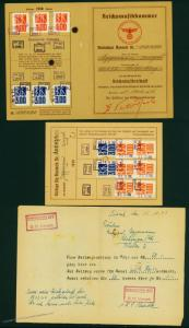 3rd Reich Reichsmusikkammer Chamber MUSIC Membership ID and Dues Booklet w 70253
