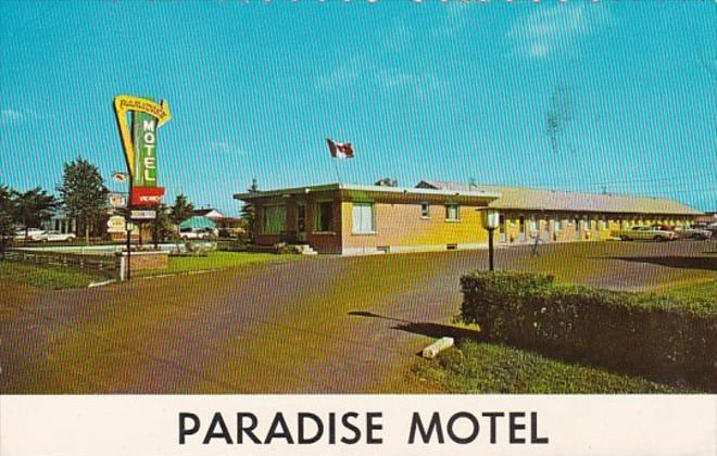 Canada Ontario Fort William Paradise Motel 1966