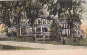 New Hampshire West Swansey Denman Thompsons Residence