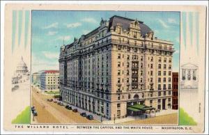 The Willard Hotel, Washington DC