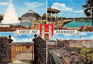 Gruesse aus Hannover, Stadthalle Brunnen, Schloss Herrenhausen Am Maschsee