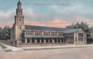 RIVERSIDE, California, 1900-1910's; Congregational Church
