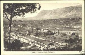 italy, TERNI, Panorama delle Acciaierie (1920s)