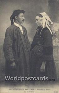 Homme et femme de Guemenee, Belgium, België, la Belgique, Belgien Costumes B...