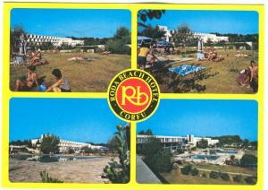 Greece, Roda Beach Hotel, Corfu, 1992 used Postcard