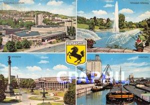 Postcard Modern Konzerthaus Liederhalle H�henpark Killesberg STUTTGART Neck...