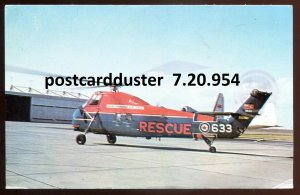 954 - CANADA MILITARY 1960s RCAF Search & Rescue Helicopter