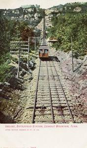 TN - Lookout Mountain, Battlefield Station,  Cable Incline RR