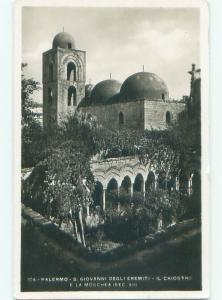 old rppc NICE VIEW Palermo - Sicily Italy i3064