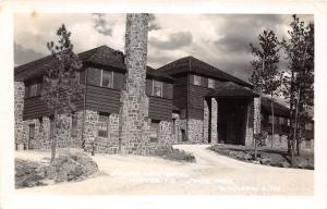 D69/ Custer State Park South Dakota SD Postcard Photo RPPC 40s Sylvan Lake Hotel