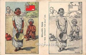 Mellin's Food India Advertising Unused light yellowing from age