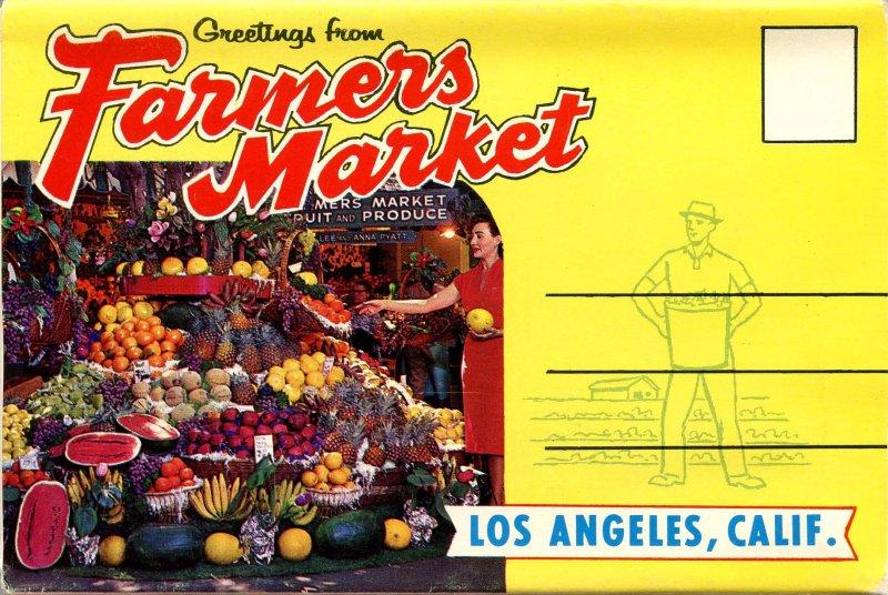 Folder - California. Los Angeles, Farmers' Market      10 views + narrative