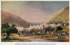 Panorama, Nablous, Or Shechem, Palestine, 1910-1920s