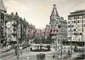 Postcard Modern Tramway Stockholm