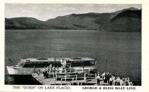 NY - Lake Placid. The Doris, George Bliss Boat Line