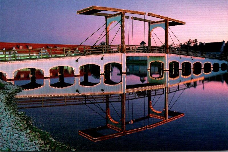 Michigan Holland Bridge Replica Of Amsterdam's De Margere Brug
