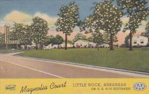 Arkansas Little Rock Magnolia Court Albertype