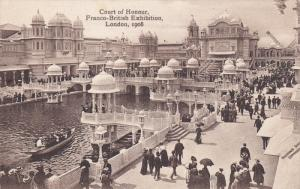 LONDON, England, 1900-1910's;  Court Of Honour, Franco-British Exhibition