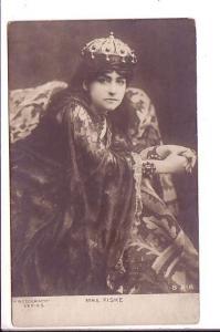 Mrs. Fiske, Actress, Rotograph Great Costume, Vintage Postcard
