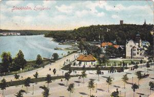 Partial Scene, Djurgarden, STOCKHOLM, Sweden, 1900-1910s