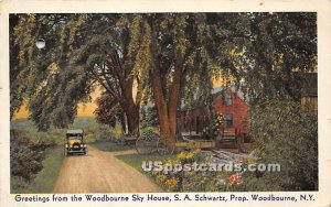 Greetings from - Woodbourne, New York