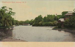New York Albany Washington Park