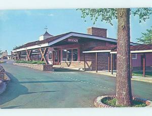 Pre-1980 MOTEL SCENE Springfield Illinois IL AD8826