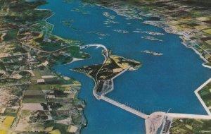 St Lawrence River Seaway , Ontario , Canada , 1955