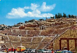 Jordan Amman The Roman Amphitheatre Vintage Cars Voitures