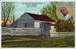 Birthplace Mark Twain, Florida MO