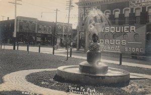 RP: CHERRYVALE , Kansas , 1911 ; Santa Fe Park