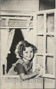 Shirley Temple Actor / Actress Postcard Post Card Old Vintage Antique Unused