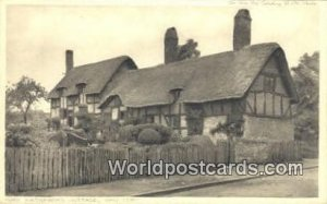 Hathaway's Cottage Shottery UK, England, Great Britain Unused