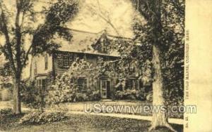 Old Manse Concord MA Unused