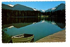Eleanor Lake, Blue River, British Columbia, Row Boat