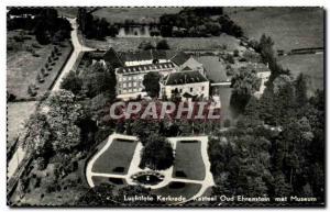 Old Postcard Luchtfoto Kerkrade kasteel Oud Ehrenstein puts museum