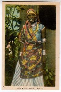 Indian Woman, Trinadad B.W.I.