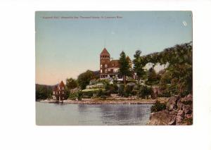 Hopewell Hall Alexandria Bay, Thousand Islands, Ontario pre 1920 Giant Oversize