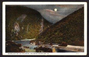 PA - Delaware Water Gap - Moonlight