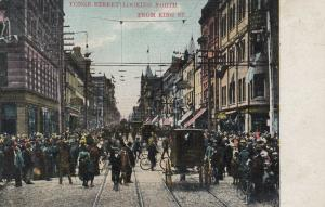 TORONTO (Ontario),  1908 ; Yonge Street looking North from King Street