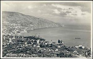 portugal, MADEIRA, Vista do Pico da Cruz 50s RPPC