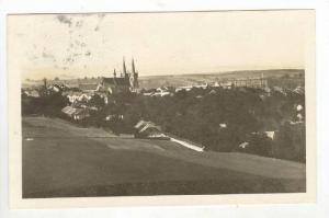 Aerial of Village,Chrudim,Bohemia,Czech Republic 1917 PU