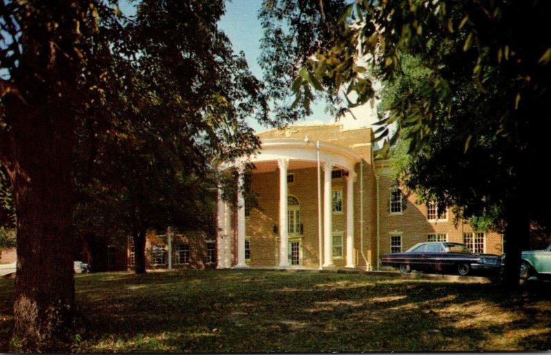 Mississippi Raymond Auditorium Building Hinds Junior College