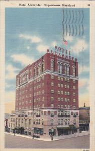Hotel Alexander, Hagerstown, Maryland, PU-1941