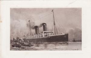 Cunard R.M.S. Campania, Ocean Liner, 10-20s