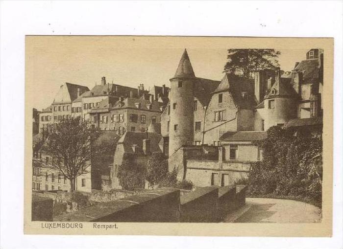 Luxembourg , Rempart, 00-10s