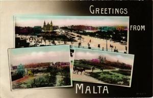 CPA MALTA-Greetings from Malta (320196)